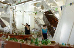 Thomas Hirschhorn Crystal of Resistance, 2011