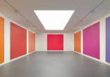 Olivier Mosset, Ten Monochromes, Installation view, 2007, Galerie Caratsch, Zürich, Photo: Stefan Altenbruger