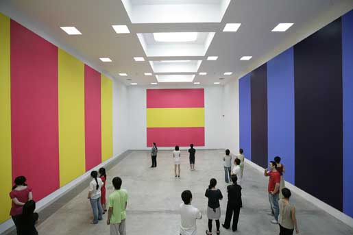 Olivier Mosset, Olivier Mosset, Installation view, 2008, Gallery Hyundai Company / doART Beijing