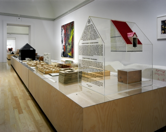 Herzog & de Meuron: Archaeology of the Mind. Installation view, 2002 © Canadian Centre for Architecture