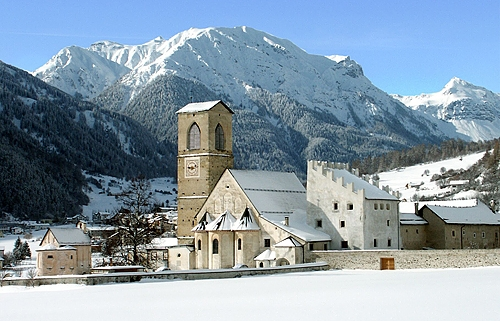 Müstair GR, Convento di San Giovanni © Stiftung Pro Kloster St. Johann in Müstair